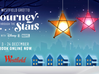 Westfield's 'Journey Through The Stars' Grotto with Disney and Marvel image
