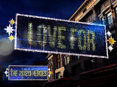 Oxford Street Christmas Lights image