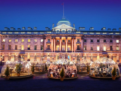 Igloos at Somerset House image