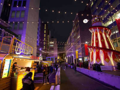 Selfridges Christmas Market on the Mews image
