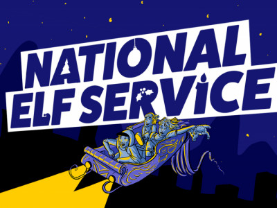 National Elf Service - a family game for the festive season image