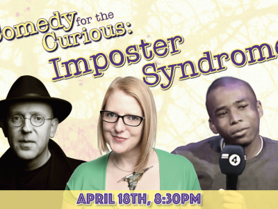 Comedy for the Curious: Imposter Syndrome image