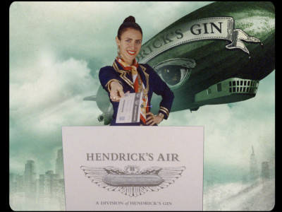 Fly away with Hendrick's Air, the World's first airline run by a gin brand! image