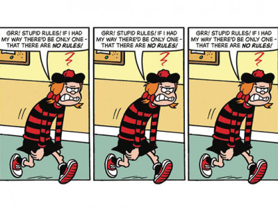 BEANO: THE ART OF BREAKING THE RULES image