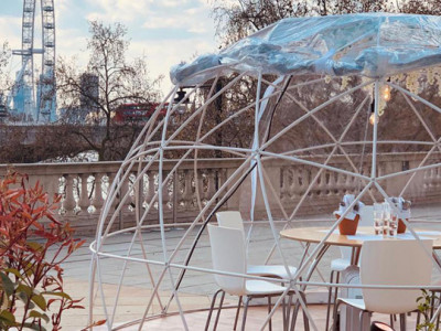 Dining Domes at Somerset House image
