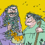 Roald Dahl's 'The Twits' - online reading picture