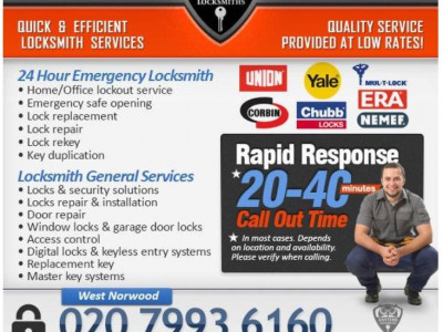 Buy 1 locksmith service Get 1 home security check for Free image