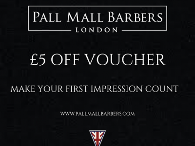 Get £5 OFF on your first Haircut at Pall Mall Barbers Westminster! image