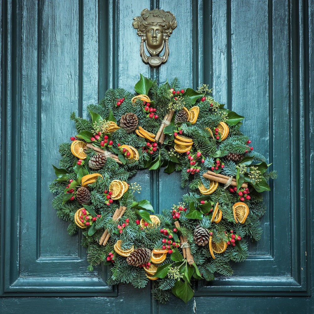 DECK YOUR DOORS WITH WREATHS OF GLORY image