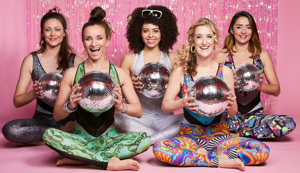 GET DOLLED UP FOR DISCO YOGA image